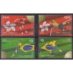 Hong-Kong - 2009 - No 1435/1438 - Football
