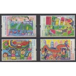 Hong-Kong - 2010 - No 1473/1476 - Dessins d'enfants