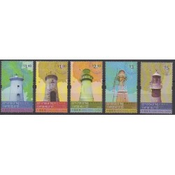 Hong Kong - 2010 - Nb 1481/1485 - Lighthouses