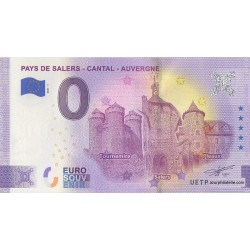 Euro banknote memory - 15 - Pays de Salers - Cantal - Auvergne - 2021-1 - Anniversary