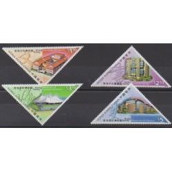 Hong-Kong - 2000 - No 936/939 - Monuments
