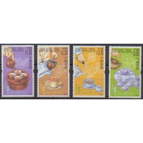 Hong-Kong - 2001 - No 985/988 - Gastronomie
