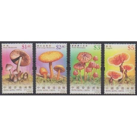 Hong-Kong - 2004 - No 1153/1156 - Champignons