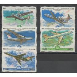Russia - 1979- Nb PA138/PA142 - Planes