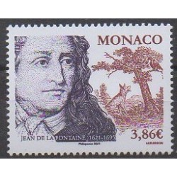 Monaco - 2021 - Jean de la Fontaine - Littérature