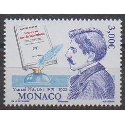 Monaco - 2021 - Marcel Proust - Littérature