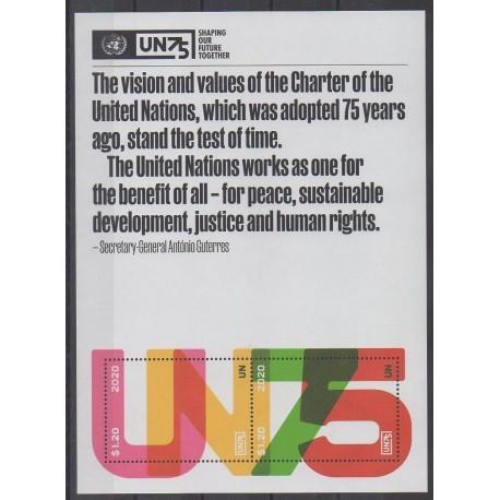 Nations Unies (ONU - New-York) - 2020 - No F1714