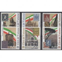 Vatican - 2011 - No 1543/1548 - Timbres sur timbres - Histoire
