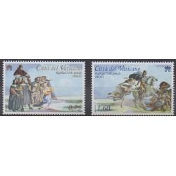 Vatican - 2011 - No 1571/1572 - Peinture