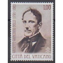 Vatican - 2013 - No 1619 - Littérature