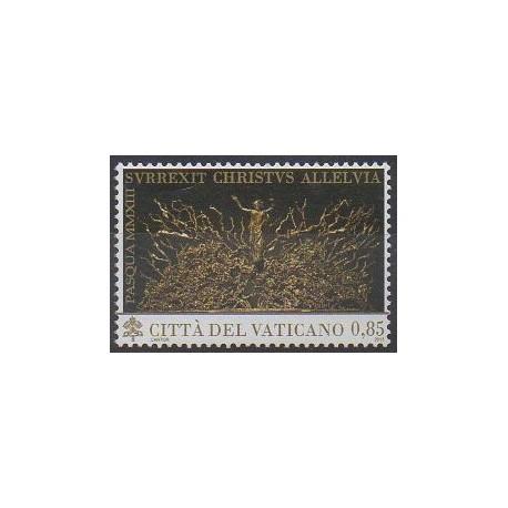 Vatican - 2013 - No 1614 - Pâques