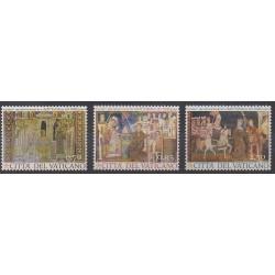 Vatican - 2013 - No 1628/1630 - Peinture