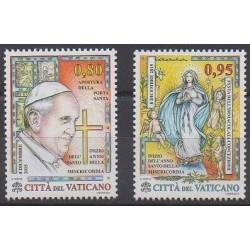 Vatican - 2015 - No 1705/1706 - Papauté