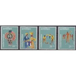 Netherlands Antilles - 1969 - Nb 392/395 - Folklore