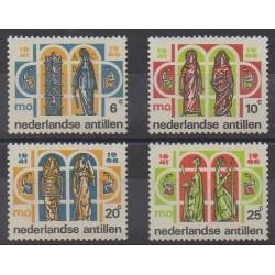 Netherlands Antilles - 1966 - Nb 357/360 - Art