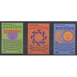 Netherlands Antilles - 1974 - Nb 477/479 - Music - Childhood