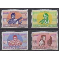 Netherlands Antilles - 1969 - Nb 398/401 - Music - Childhood