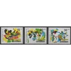 Netherlands Antilles - 1972 - Nb 434/436 - Music