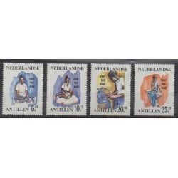 Netherlands Antilles - 1966 - Nb 361/364