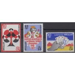 Netherlands Antilles - 1977 - Nb 517/519