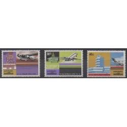 Antilles néerlandaises - 1975 - No 489/491 - Aviation