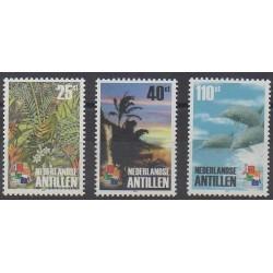 Antilles néerlandaises - 2001 - No 1255/1257 - Philatélie