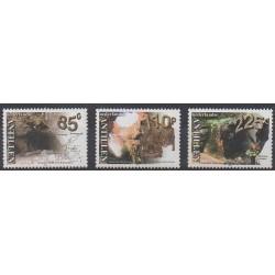 Antilles néerlandaises - 2001 - No 1277/1279 - Mammifères