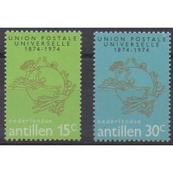 Netherlands Antilles - 1974 - Nb 475/476 - Postal Service
