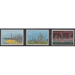 Netherlands Antilles - 1974 - Nb 472/474