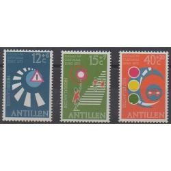 Netherlands Antilles - 1973 - Nb 451/453