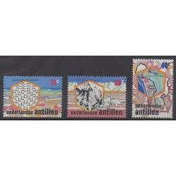 Netherlands Antilles - 1975 - Nb 486/488