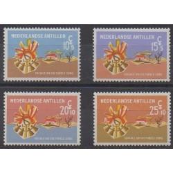 Netherlands Antilles - 1968 - Nb 381/384