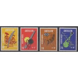 Netherlands Antilles - 1970 - Nb 408/411