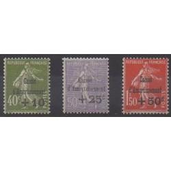 France - Poste - 1931 - No 275/277