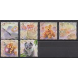 Australia - 1999 - Nb 1767/1772 - Childhood