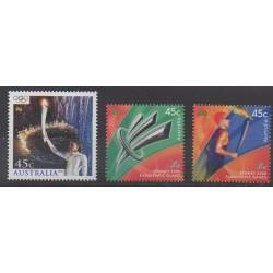 Australia - 2000 - Nb 1875/1877 - Summer Olympics