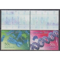 Australia - 2003 - Nb 2125/2126 - Science