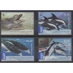 Australia - 2009 - Nb 3079/3082 - Mamals - Endangered species - WWF