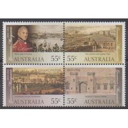 Australia - 2010 - Nb 3220/3223 - Various Historics Themes