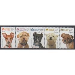 Australia - 2010 - Nb 3289/3293 - Dogs