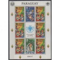 Paraguay - 1981 - No 1903a - Musique - Enfance - Noël