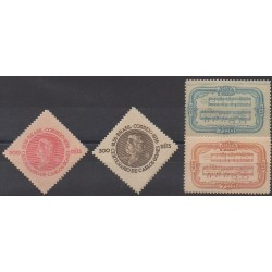 Brazil - 1936 - Nb 307/310 - Music - Mint hinged
