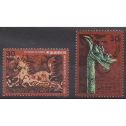 South Korea - 1980 - Nb 1056/1057 - Art