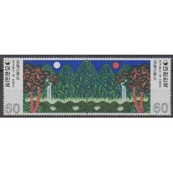 South Korea - 1980 - Nb 1066/1067 - Paintings