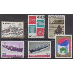 South Korea - 1981 - Nb 1099/1104
