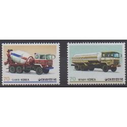 South Korea - 1983 - Nb 1203/1204 - Transport