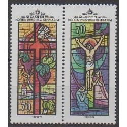 South Korea - 1984 - Nb 1242/1243 - Religion