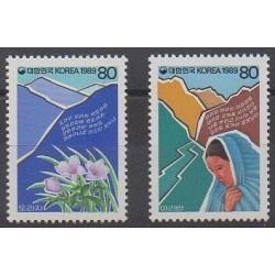 South Korea - 1989 - Nb 1428/1429 - Music