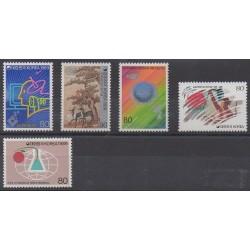 South Korea - 1989 - Nb 1436/1440