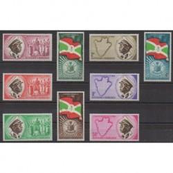 Burundi - 1962 - Nb 26/34 - Various Historics Themes